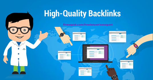 I will build High Domain Authority 70 Pr9-5 up Do-Follow Backlinks