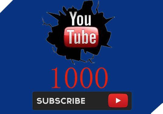 I will give 1000 youtube subscribers