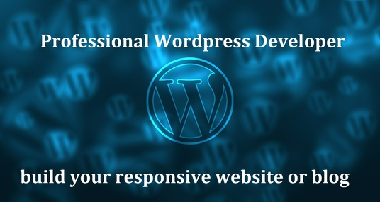 I will Create A Professional Wordpress Website Or Blog