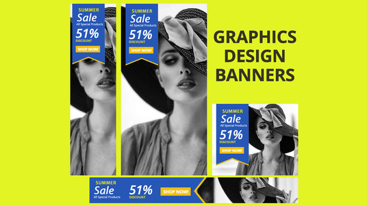 Design Google Ads Banners for Adwords Campaign