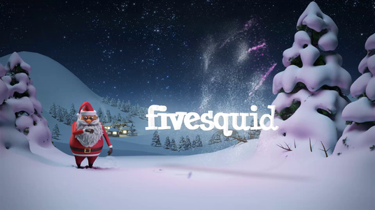 animate this customized christmas intro  video hd