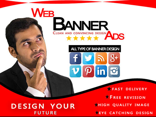 I will design any website banner ads,banner design,product ad