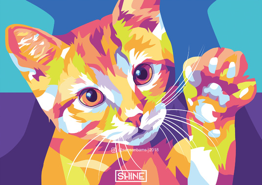 I will draw high quality Pop Art of your pet