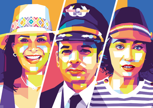 I will draw professional  pop art WPAP from your photo