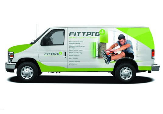 I will Do Professional Vehicle, Car, Truck Or Van Wrap Designs