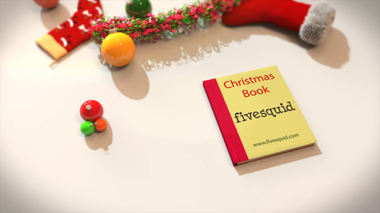 create this beautiful christmas pop up book intro