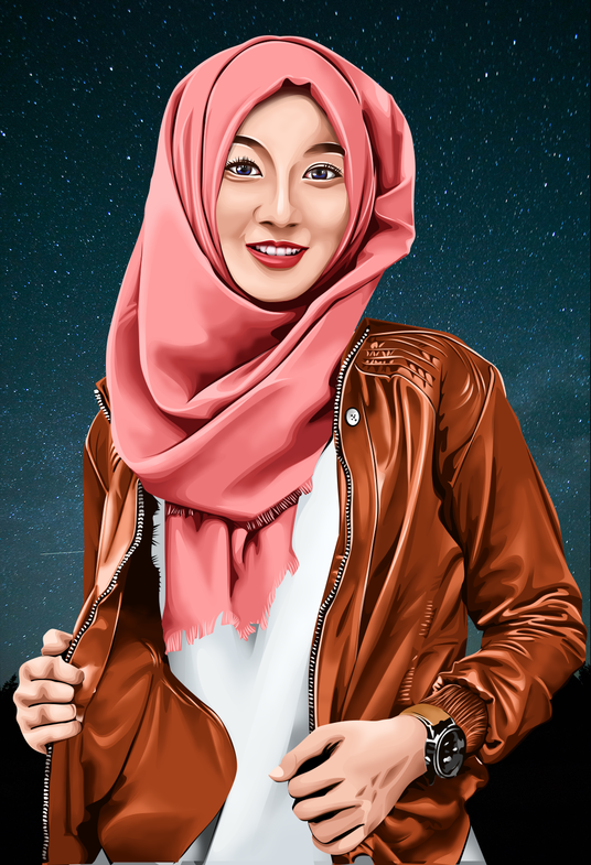 I will Draw Awesome Vector Portrait