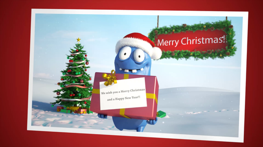 animate a character for christmas hd