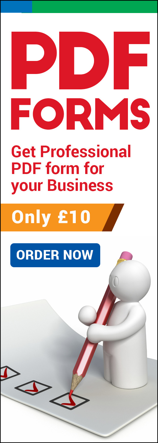 I will create Fillable  PDF form with unlimited revisions