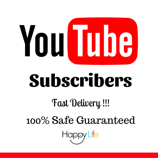 I will give you 100 youtube genuine human high quality subscribers fast delivery