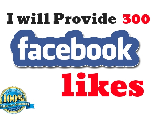 I will Give 300 Real Facebook Likes to your Page