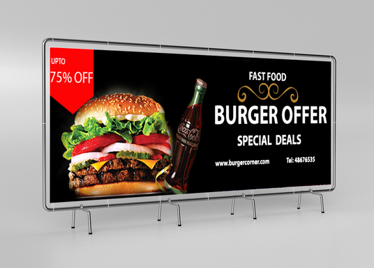I will design clean and professional banners for you