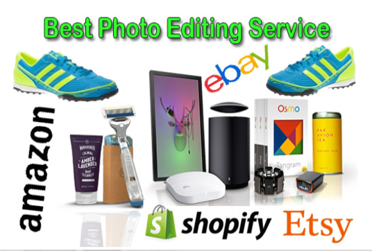 I will Do photo editing background remove products retouch  amazon ebay