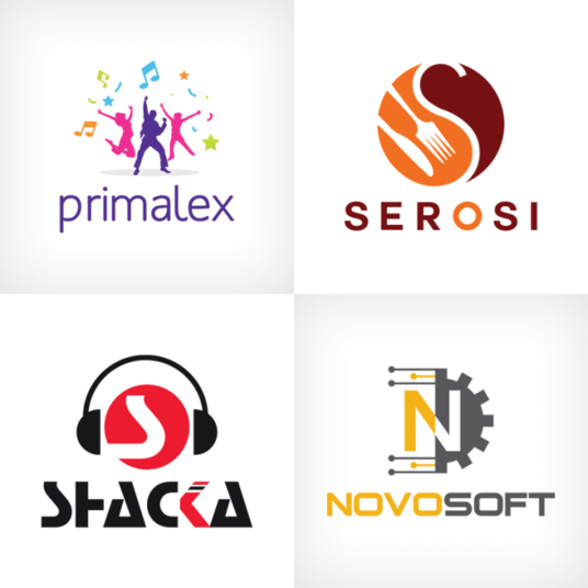 I will design 4 logo with free revisions