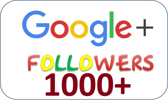 I will provide 1000 Google plus followers