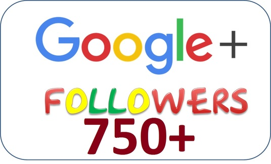 I will provide 750 Google plus followers