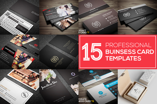 do 15 professional business cards