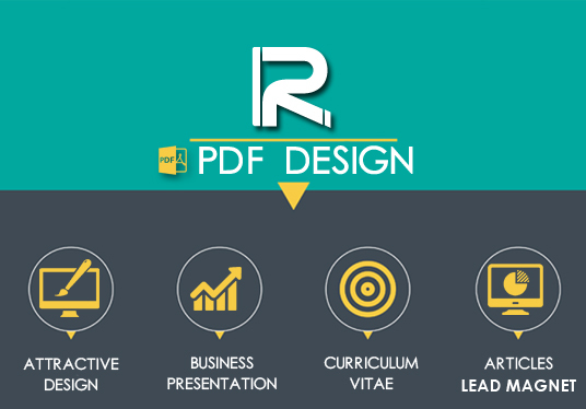 I will design amazing PDF documents