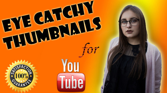 I will design eye catchy thumbnails for YouTube and FB Banners