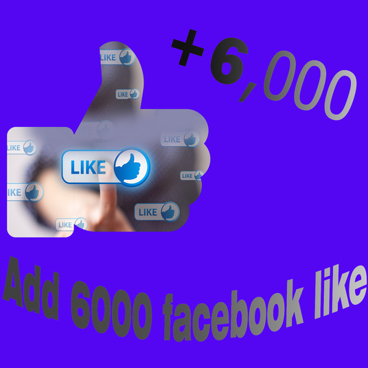 I will Provide you 6000 Facebook Likes
