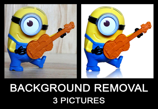 I will remove background of 3 product images within 24 hr