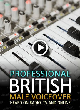 record a 100 word voiceover with my Male British accent