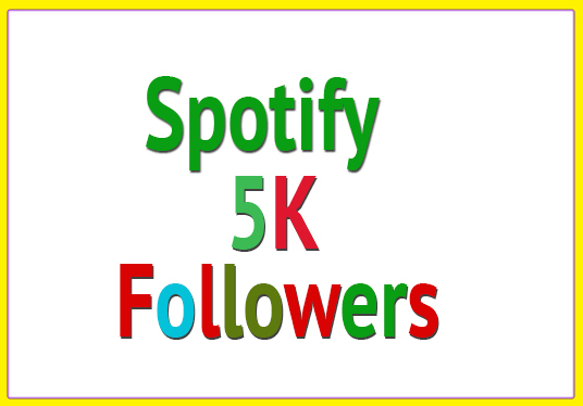 I will give you 1500 Spotify followers