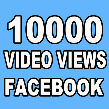 Provide 10000 Facebook Video Views