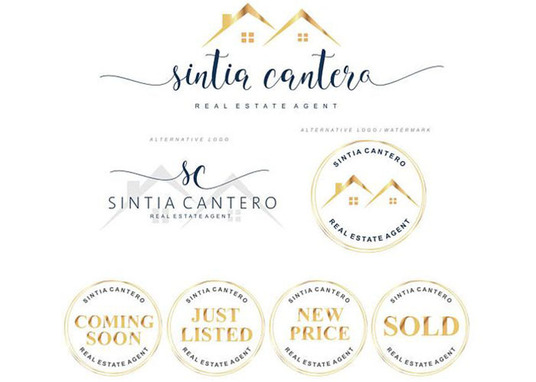 I will design Real Estate logo with 3 different concept