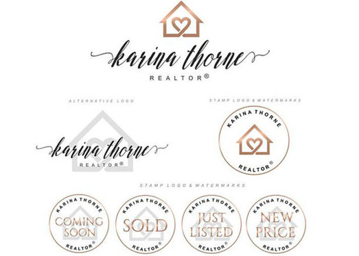 design Real Estate logo with 3 different concept