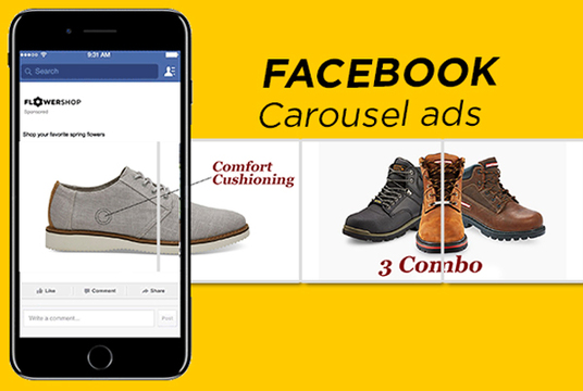 I will Design High Quality Facebook Carousel Ads For You