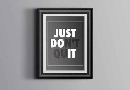 I will Design A Print Ready Typography Motivational Quotes Poster In 24 Hours