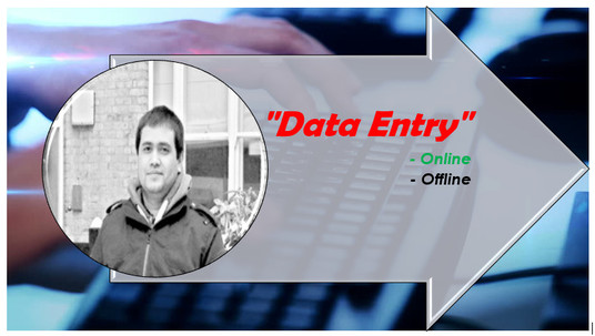 I will do online data entry