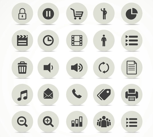 I will design modern icons and flat icons