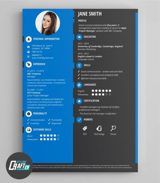 I will design CV creatively and accurately