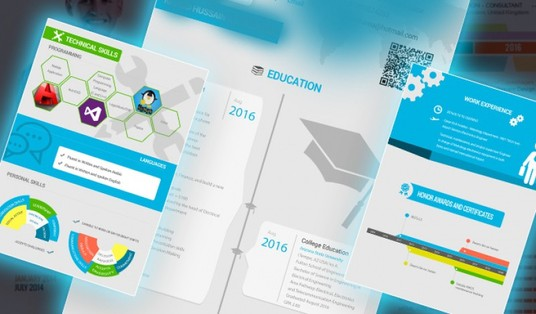 design CV creatively and accurately