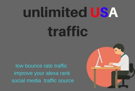 Drive USA Keyword Targeted Low Bounce Rate Traffic