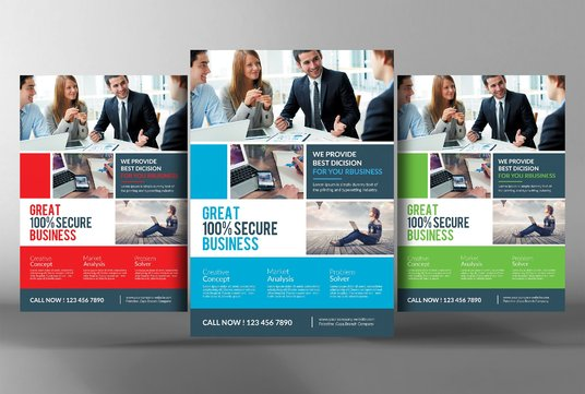 Design A Creative and Modern Flyer for your Business