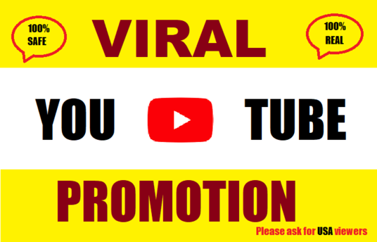 I will do massive youtube promotion to get views