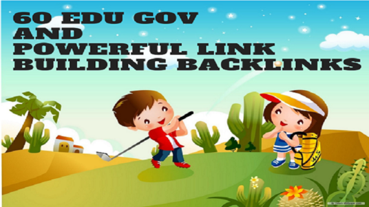 I will Do 60 Edu Gov And Powerful Link Building Backlinks