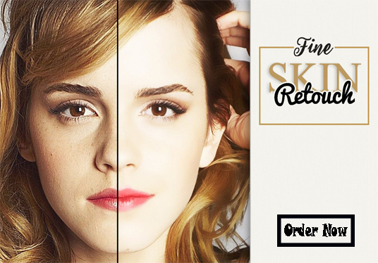 I will professionally skin retouch your 5 photos in 24 hours