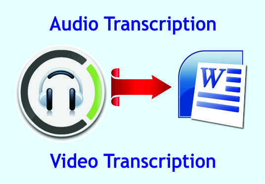 I will transcribe your audio or video files