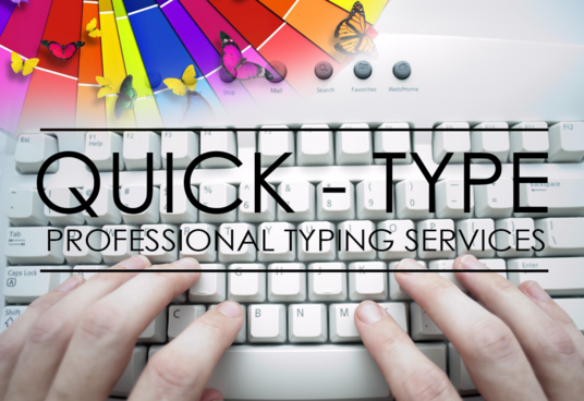 I will do perfect typing of any document up to 7 Pages under 24 hours