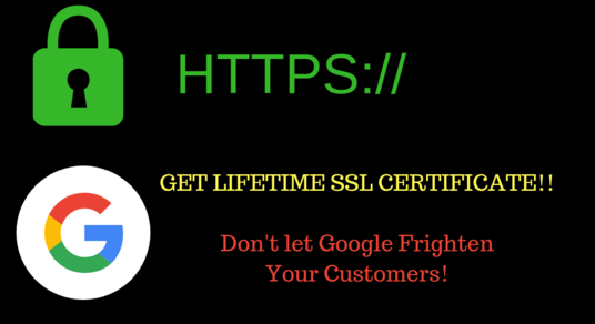 I will create a lifetime FREE SSL Certificate for your WordPress Domain