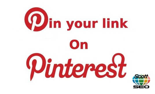 share your blog, web page and links to your website on Pinterest
