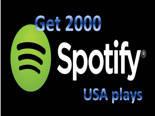 I will provide you 2,000 High Quality Spotify USA Plays