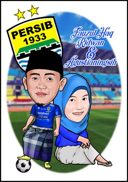 make cartoon of your face for gift