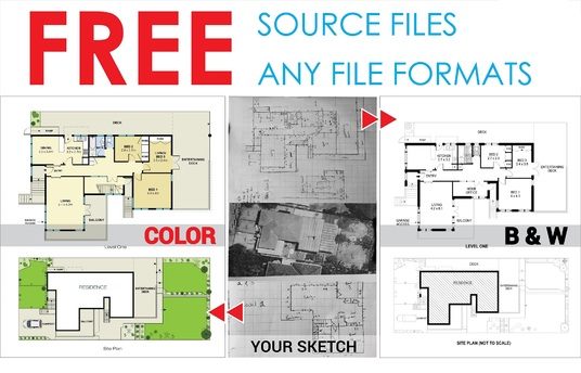 I will Draw  & Redraw Floor Plan For Real Estate Agents, Property Manager, Etc