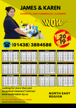 create a poster wall calendar for your business