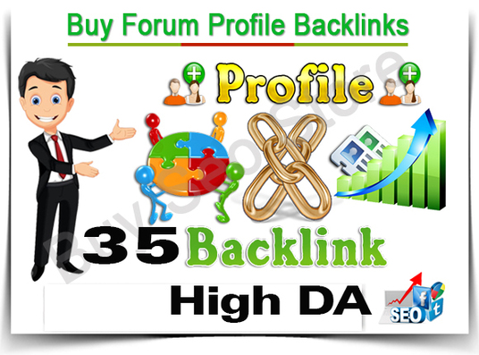 I will Do 35 Authority Forum Profile Links to Boost Rank